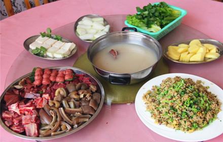 【兴源东路】众兴驴庄3-5人套餐,仅售230元,市场价272元;