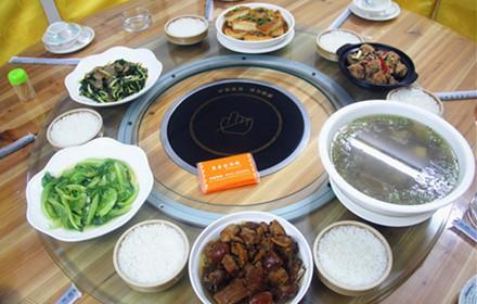 【兴源东路】康鑫园酒楼3-5人套餐;仅售198元,市场价:269元。