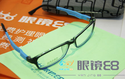 【中山大道】眼镜88仅售78元,享市场价293元风格TR90镜框+伊视尊镜片套餐;节假日通用!