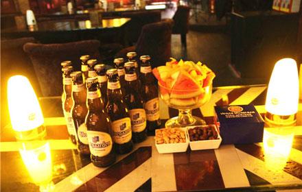 【大同路】【维加斯酒吧】比利时进口白啤套餐;仅售198元,市场价328元