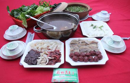 【迎客大道】荷塘月色农家香3-4人梅花鹿套餐;仅售148元,市场价290元;
