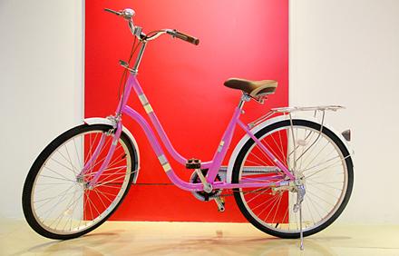【文明路】吉顺自行车行24寸凤凰牌,仅售612元,市场价680元。