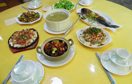 【黄子洞】赣客轩餐馆3-4人套餐;仅售118元,尊享市场价155元